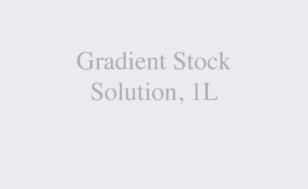 Gradient Stock Solution, 1L